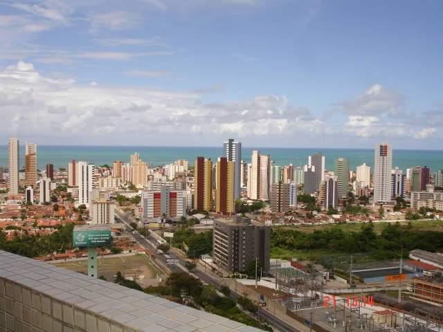 Imagens aéreas da cidade de João Pessoa