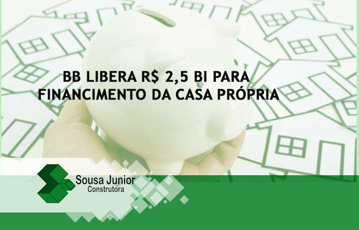 BB libera R$ 2,5 bi para casa própria; linha financia até 90% do imóvel
